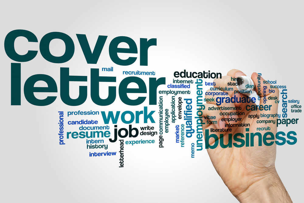 Cover letter graphic