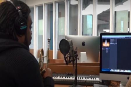 Dream Lab music recording graphic