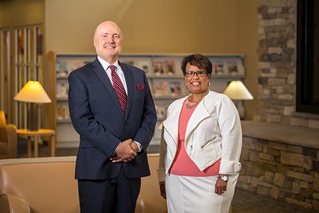 Interim Co-CEO photo-Michael Gannon and Michelle Hamiel