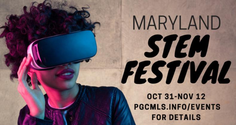 Maryland STEM Festival graphic