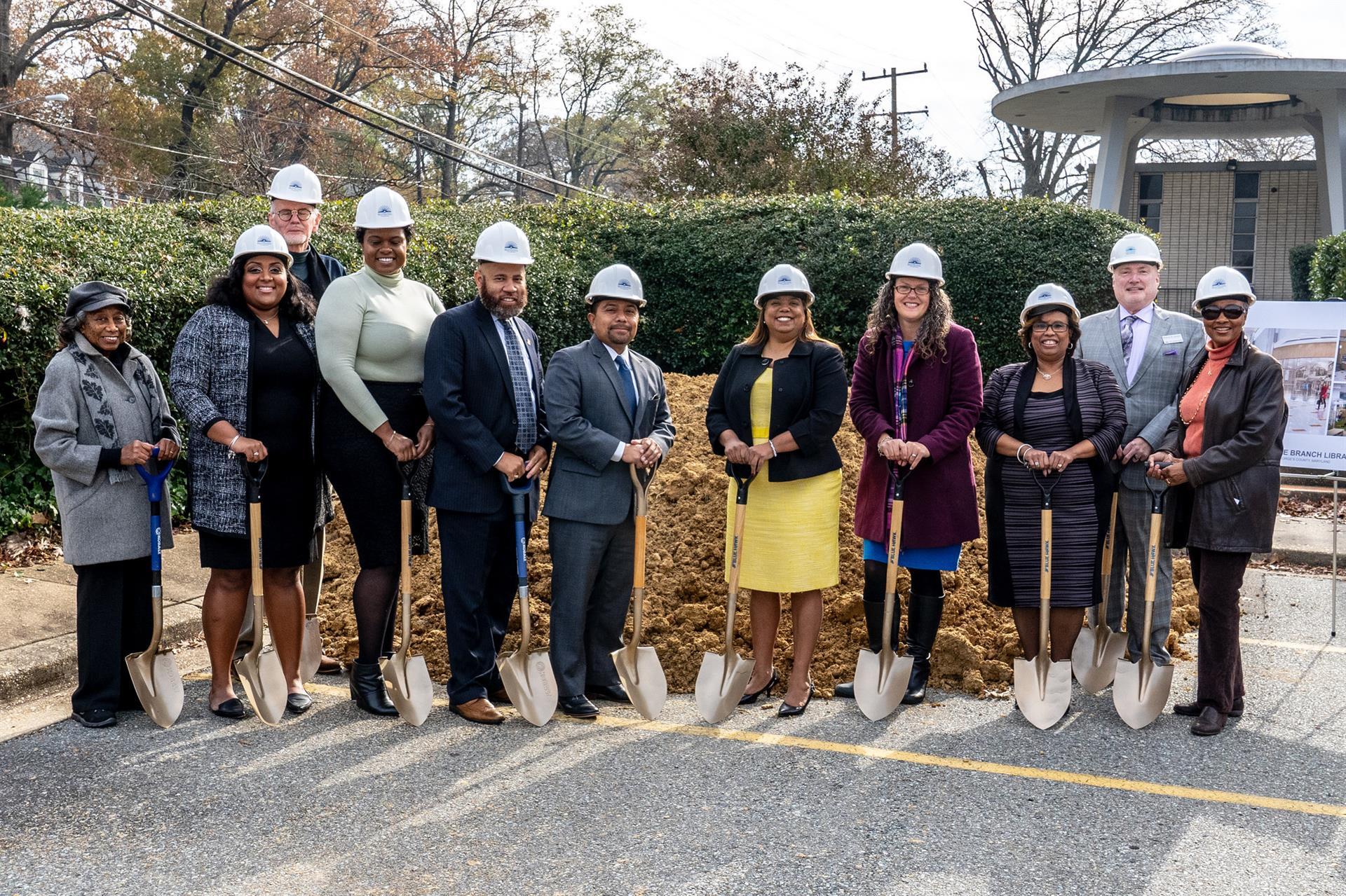 New Hyattsville Branch Groundbreaking Ceremony