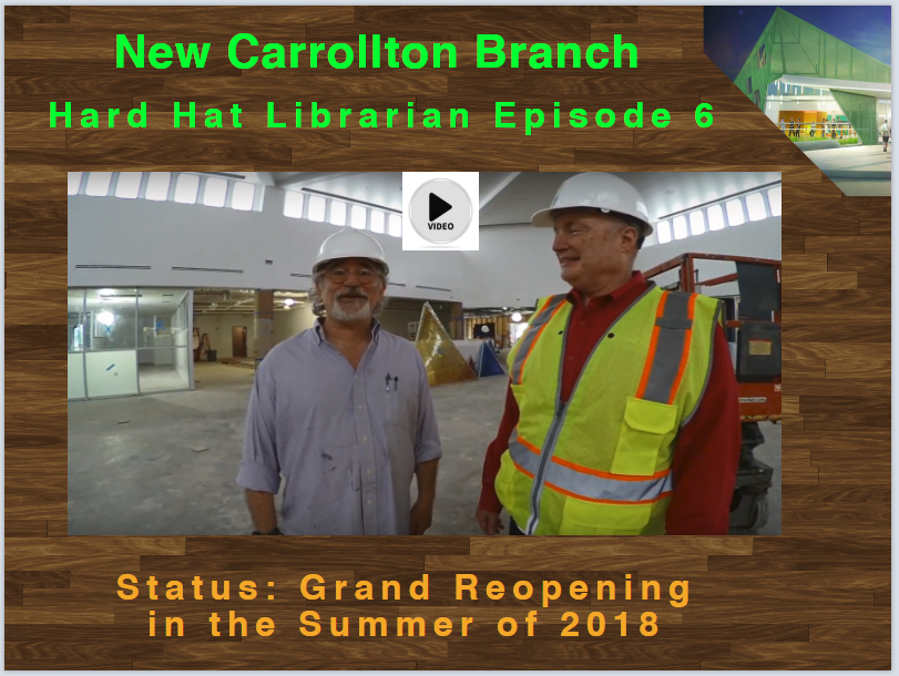 Hard Hat Librarian Episode 6: New Carrollton Branch