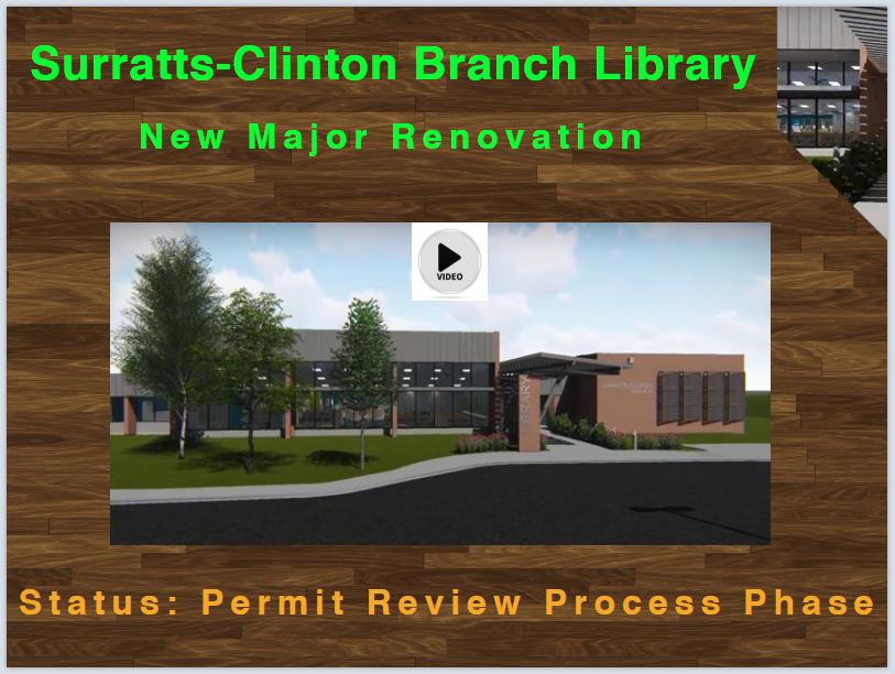 Surratts-Clinton Branch design video