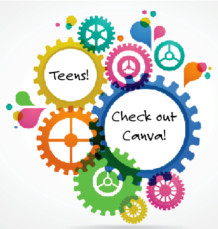 Teens Check Out Canva graphic
