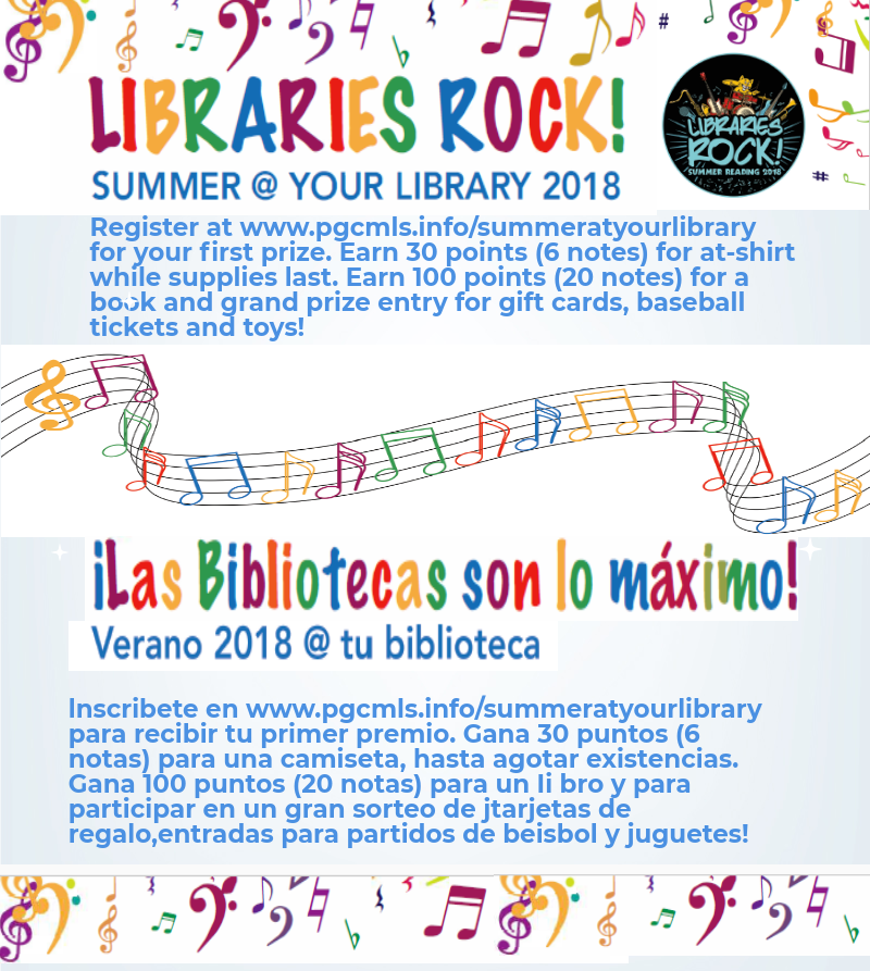 Libraries Rock! infographic